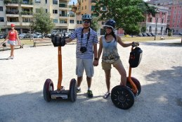 10mins of testing the Segways