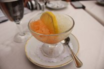 Melon and Lemon Granita