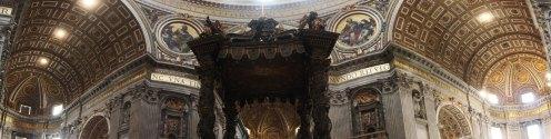 St Peter's Basilica panorama