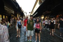 Ponte Vecchio, oldest bridge spanning the Arno River