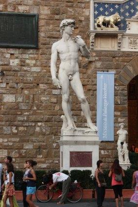 Statue of David replica