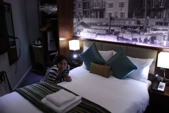 Seraphine Hammersmith Hotel - tiny as!