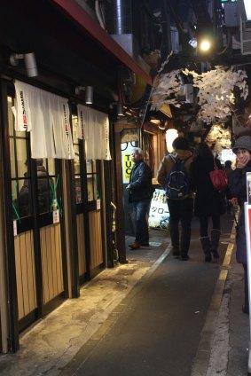 Some udon/ramen/soba alley
