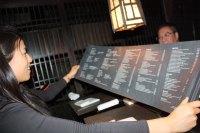 Scroll menu