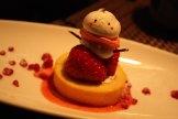 Snowman dessert!