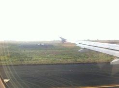 Flying...